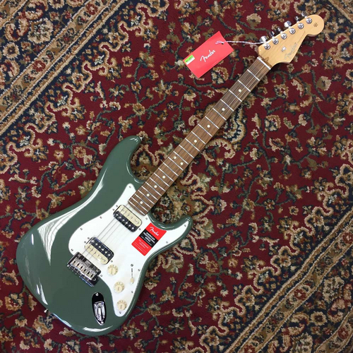 Fender American Pro Stratocaster HH ShawBucker Rosewood Fingerboard Antique Olive